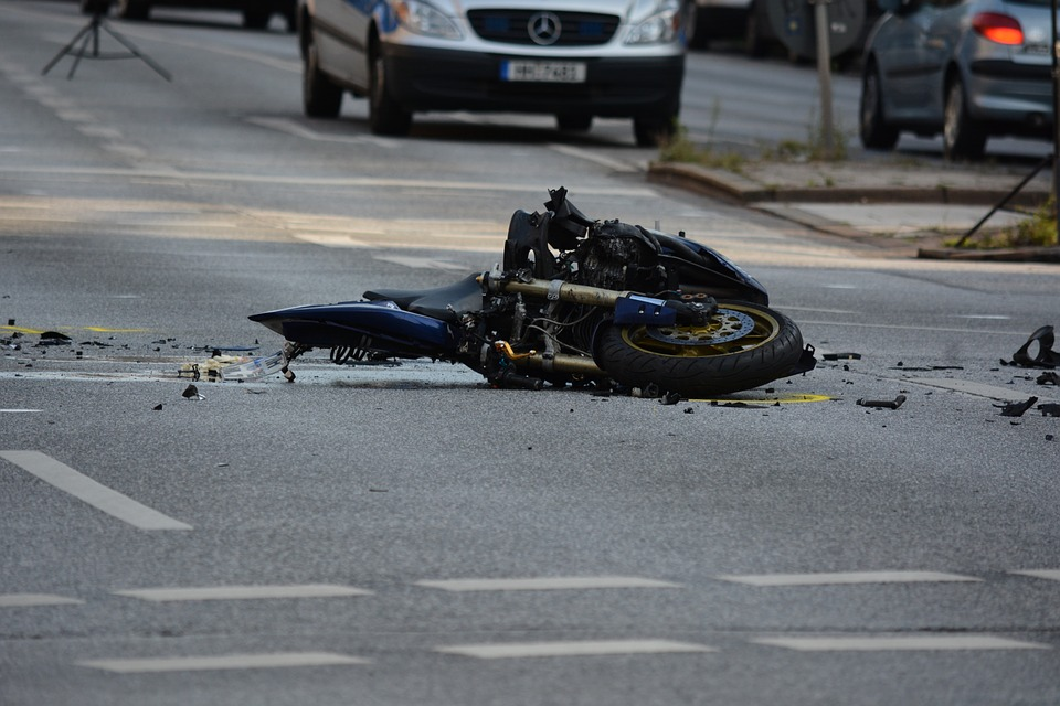 motorcycle traffic accident